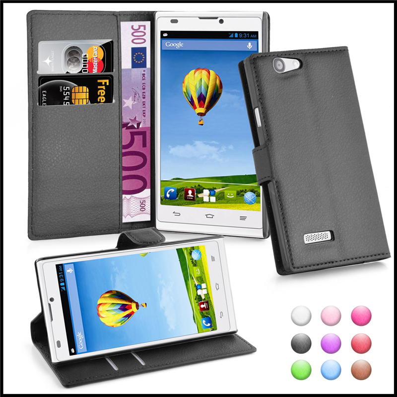 Wallet Leather Moblie Phone Case With Card Holders Cover for ZTE Blade <strong>L2</strong>