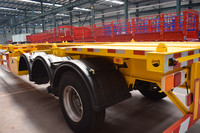 china factory 20ft container semi trailer