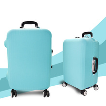 Promotional Solid High Elasticity Spandex Luggage Bag Cover for Suitcase Protective