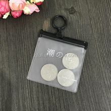 High quality wholesale slider zipper pvc pouch clear pvc bag with zipper