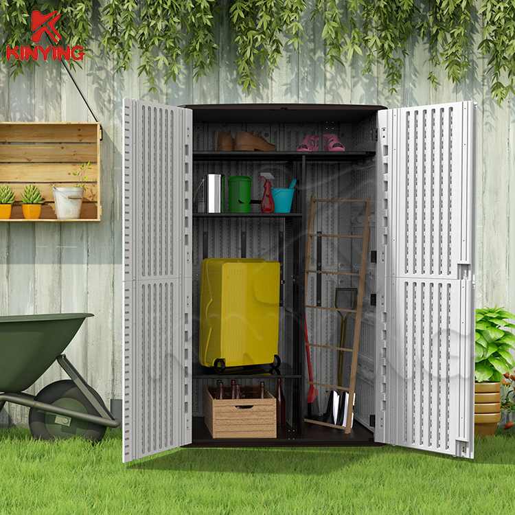 KINYING Fashion balcony HDPE storage cabinet