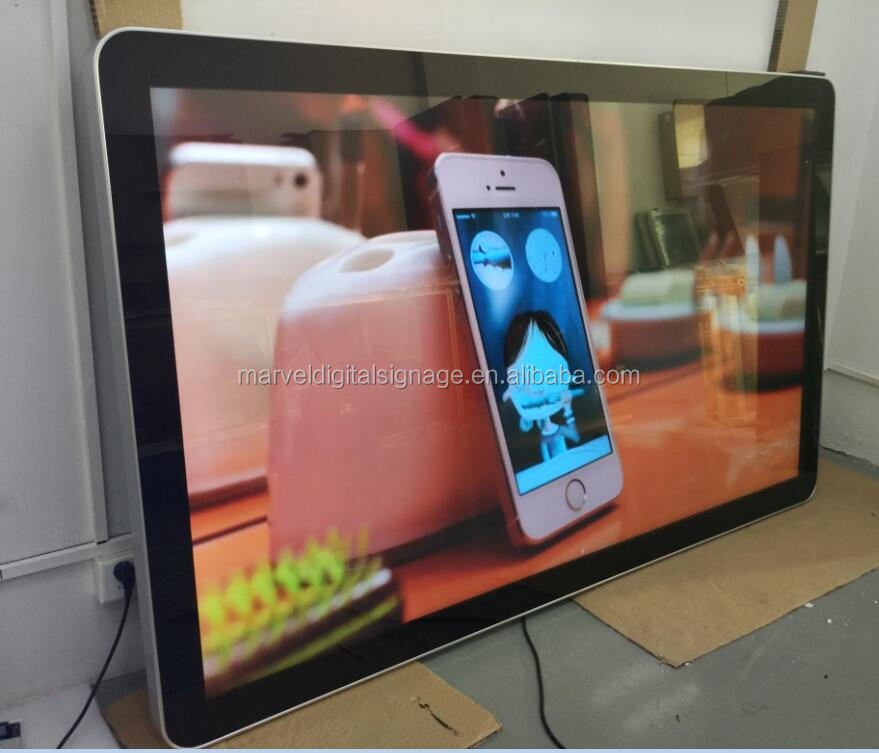 84inch LG wall mount touch screen advertising display for advertising