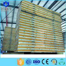 PU foam sandwich wall panel for green houses and prefabriced houses