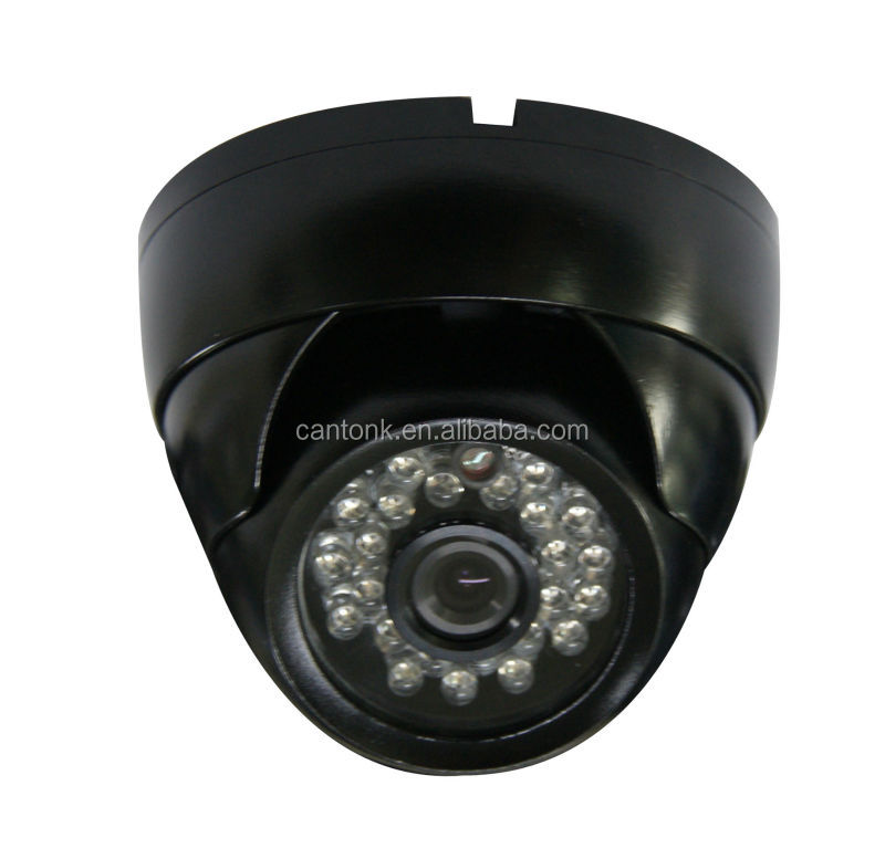 "Best seller CCTV IR Dome Camera Color 1/3"" SONY Effio-E 960H CCD 700TV Lines DWDR OSD"