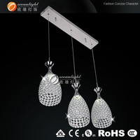 Crystal chandelier replacement parts modern crystal ceiling light crystal chandelier uk pendant lights OM88187-3AW