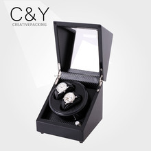 Carbon Fiber PU Leather Automatic Watch Winder