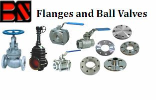Flanges & Ball Valves