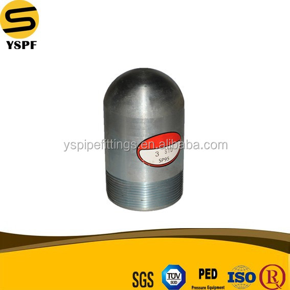 carbon steel pipe high strength steel pipe pri Carbon Steel Pipe Fitting NPT Threaded Bull Plug 4inch ASTM A105