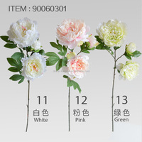 "LSD-1609231641 HOT sale 28"" Giant Head Peony Silk flower Artificial peony flower"