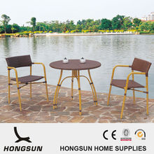 Stackable Bamboo look indonesian modern outdoor furniture