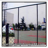 made in China rubber black powder coated chain link fence