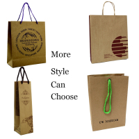 custom design different types of paper bags for shopping gift