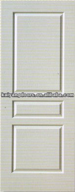 HDF moulded white primed door skin