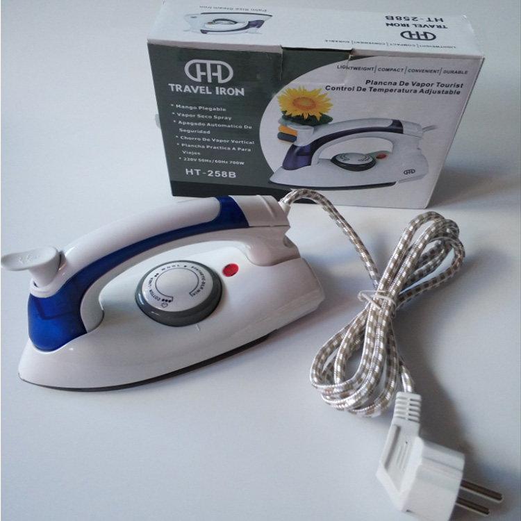 700W Temperature Control Handheld Steam Foldable Wired Portable Electric Mini Travel <strong>Iron</strong>