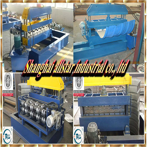Hydraulic curving steel roofing/ cramping roofing sheet machine/ bending sheet panel machine