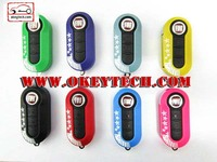 OkeyTech Fiat 500 key cover 3 button for fiat 500 cover for fiat 500 key