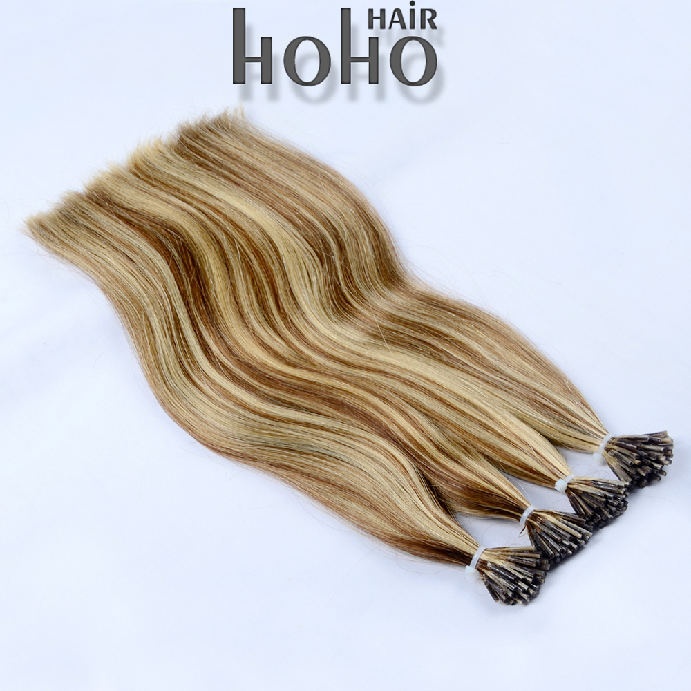 100% remy human hair 22 inch 1g/pcs keratin I tip hair extension