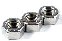 Idf-13h Sanitary Hex Hexagon Nut Ss304 Ss316L Stainless Steel Union Long Nut Hex Nuts DIN934 High Quality