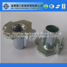Furniture Hardware Stainless T Nut/Wood Insert T-Nut/Tee Nut