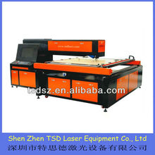 CNC plywood template laser cutting machine for template making in paper product industry