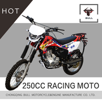 250cc racing motorcycle BULL dirt bike 125cc -- 250cc