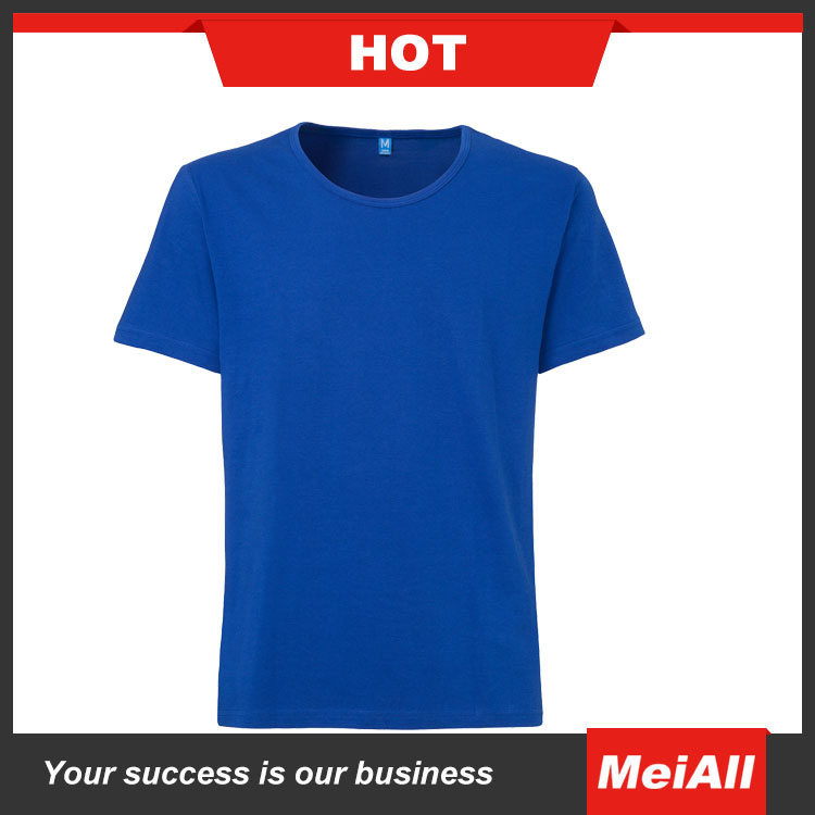 China Factory High Quality 100% Cotton 200g Custom Black Men's T Shirt