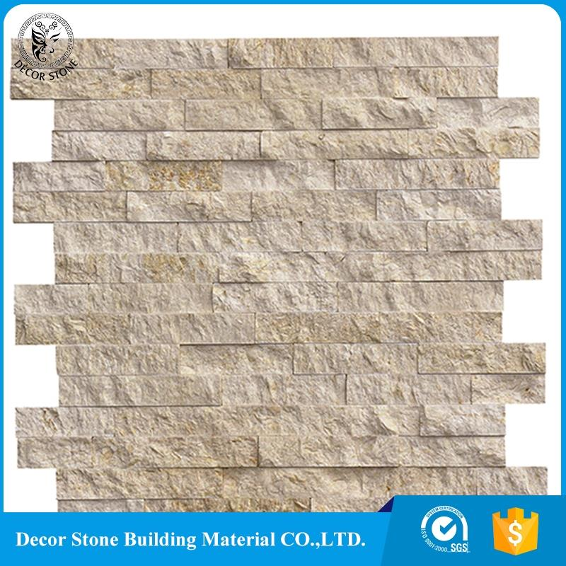 2017 most popular yellow ledge stone veneer panels with best quality and low price