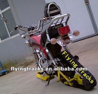 motorcycle rubber track conversion system