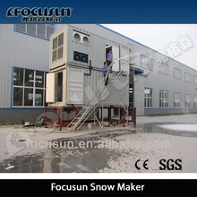 Artificial Snow/ Ice Ground with Flake Ice Making Machine