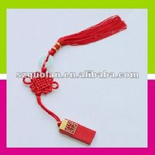 Creative Gift High Quality 2GB Classic Elegant Red Chinese Knot USB Flash Drive Disk