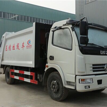 Dongfeng 8000L waste collection compactor garbage truck for sale