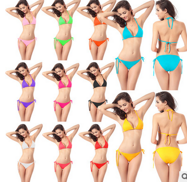 SEXY Women's Bikini Swimsuit Bathing Suit 11 colors