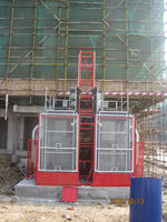 SC 100 construction material elevator