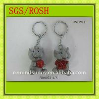 Customized Animal Polyresin Key Chain