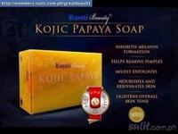 KOJIC PAPAYA BEAUTY BODY AND FACE WHITENING SOAP