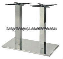 High Quality Steady Dining Coffee Metal Chrome stainless steel Table Base Table leg Furniture Leg HS-A062E