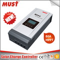 MUST 2018 Solar High efficient 99% MPPT 48v 36v 24v 12v 80a solar charger controller regulator