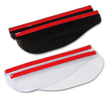 High quality material Rain visor eyebrow, car side mirror shield
