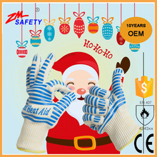 OEM New Design Super high quality cooking heat resistant welding bbq gloves