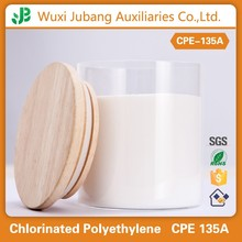 Environment friendly rubber and plastic raw material chlorinated polyethylene cpe 135a
