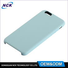 MOQ=100pcs free sample china make silicone mobile case for iphone 6 7 7plus