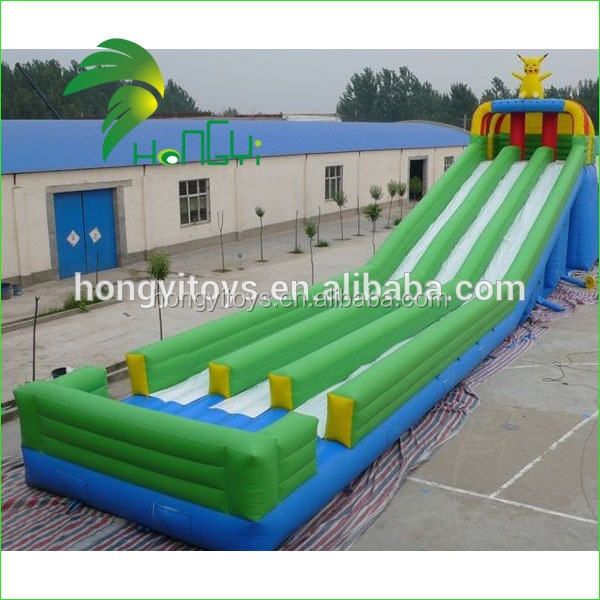 2016 Hot Sale Inflatable Water Slide , Outdoor Giant Inflatable Slide Castle For Child From Hongyi
