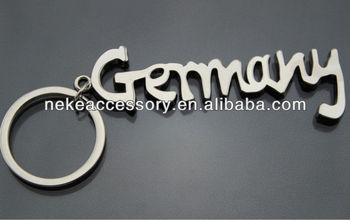 custom germany tourist souvenirs germany key chain