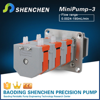 Precision dosing 12v dosing pump with low pressure