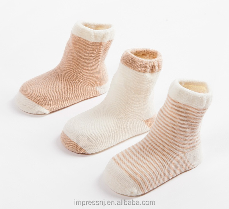 Organic Cotton baby Turn Cuff Sock
