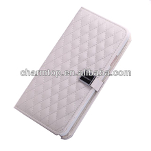 Genuine Sheep Leather Stand Case For Samsung Galaxy S5 i9600