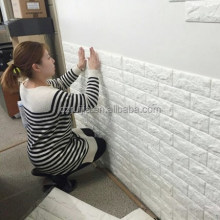 removable and self adhesive decor 3D Imitation brick wall stickers,this is factory outlet