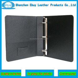 A4 A5 Personlised Faux Leather Covered 3 Ring Binder