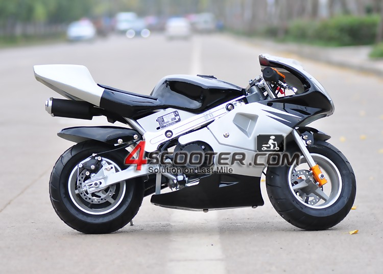 2017 hot sale 49CC pocket bike with two wheels