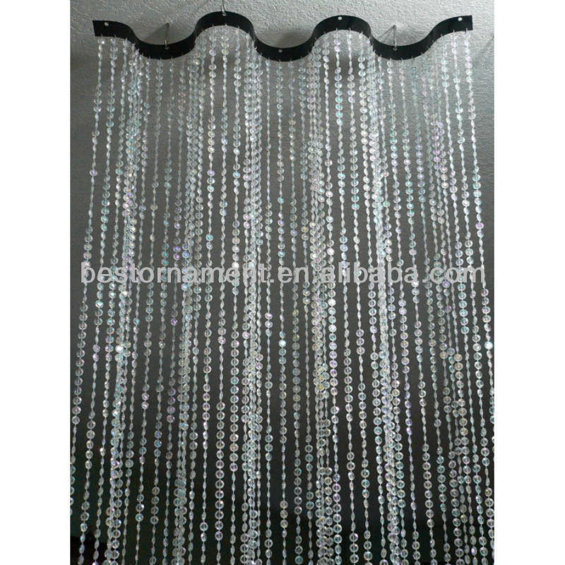 Wavy Beaded Curtain For Room Dividers - Buy Decorative Beads  Curtains,Crystal Bead Curtains For Doors,Hanging Beaded Curtains Product on  Alibaba.com - Wavy Beaded Curtain For Room Dividers - Buy Decorative Beads